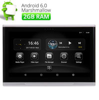 Quad Core 2 ГБ Оперативная память 10.1 Full HD экран подголовник автомобиля Мониторы USB/HDMI/CD/ir /fm Wi Fi Android 6.0 Автомобильный сзади подголовник плеер Мони
