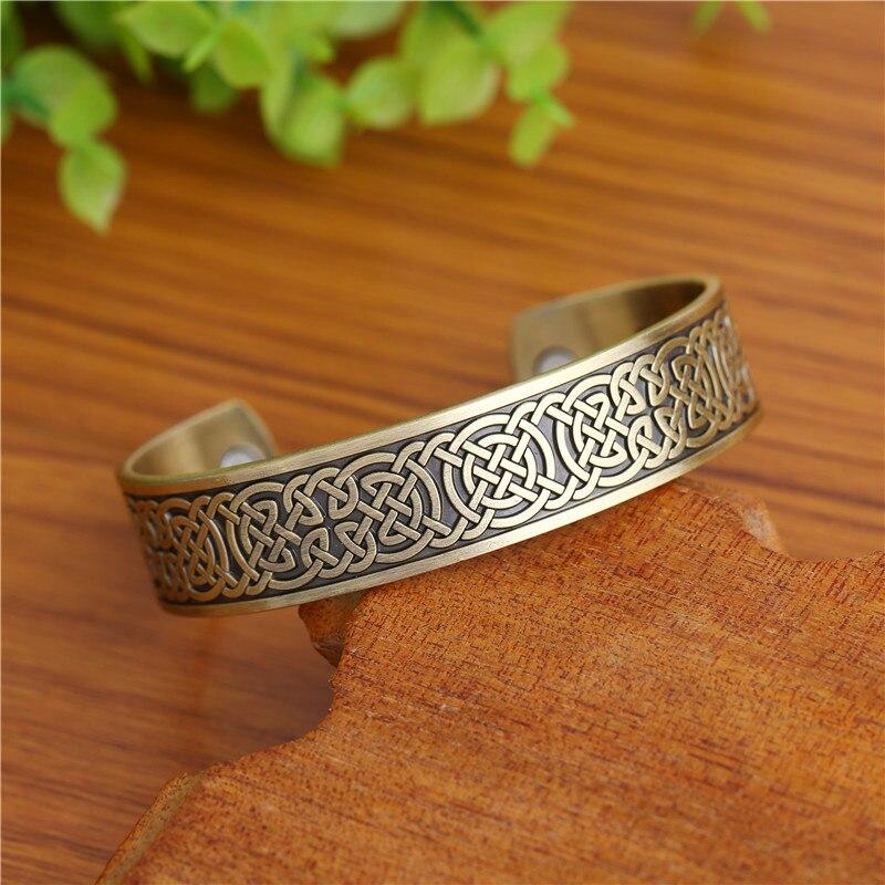Bracelet viking magnetique contre symptômes Migraines Fatigue  6