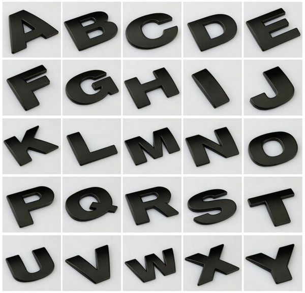Popular Black Metal Letters Buy Cheap Black Metal Letters