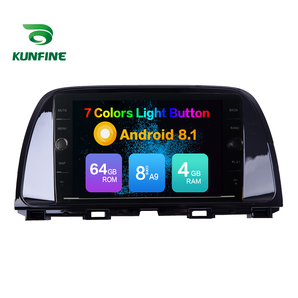 Octa Core ROM 64GB <font><b>Android</b></font> 8.1 Car DVD GPS Navigation Player Deckless Car Stereo For <font><b>Mazda</b></font> CX5 2015 2016 2017 <font><b>Radio</b></font> Headunit image