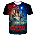 Stranger Things T Shirts Men Polyester O Neck male t-shirt Short Sleeve asian Size M-3XL Mens Tops Free Shipping