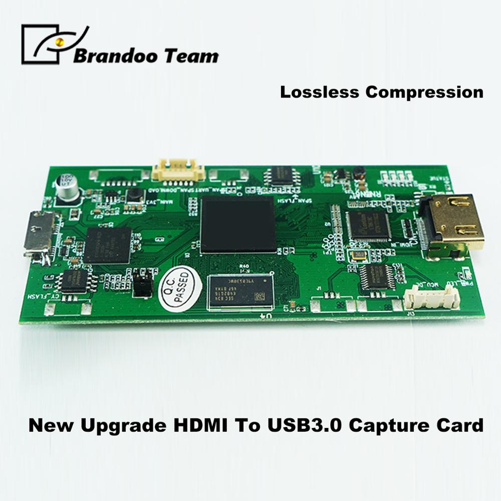 BRANDOO Newest Lossless Compression 1080P Capture Module HDMI To USB3.0 Capture Device,factory Direct.