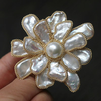 Manufacturers selling phnom penh alien flower brooch to do manual pendant atmosphere elegant corsage