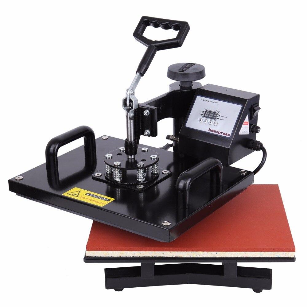 (Ship from Germany) 15 x 12 38 X 30cm Digital transfer T-Shirt Sublimation Heat press machine Swing-away 1 pcs 38 38cm small heat press machine hp230a