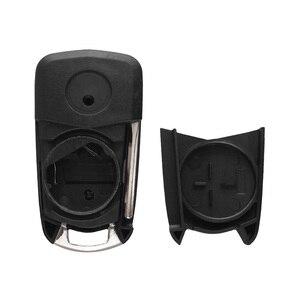 Image 5 - KEYYOU 10x 2/3 Buttons Flip Remote Car Key Shell Case For Vauxhall Opel Zafira a Vectra c Antigo Astra Omega Suprema HU43 Blade