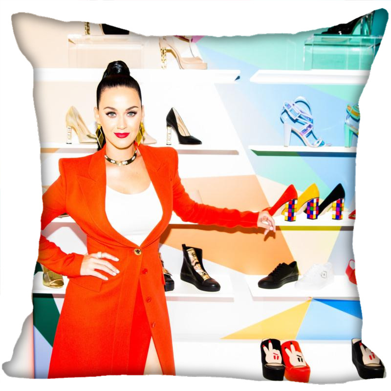 H+P#144 New Hot Custom Pillowcase Katy Perry #14 soft 45x45 cm (One Side) Pillow Cover Zippered SQ01003@H0144