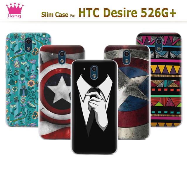 new arrivals c0410 eb7a4 US $10.98 |Matte Flexible Hard Back Cover Case For HTC Desire 526G+ Phone  Cases For HTC Desire 326G / Desire 526 526G dual sim 526G+ Cover-in ...