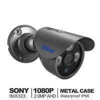 Witrue 미니 소니 IMX323 달리 CCTV 카메라 비바람에 비디오 감시 카메라 HD 1080 마력 야외 IR 밤 비전 보안 카메