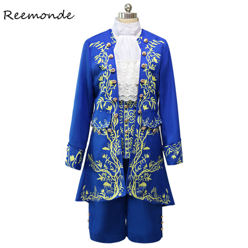 Hot Sale Fairy Tale Movie Beauty And The Beast Cosplay Costume Beast Prince Cosplay For Men Boys Halloween Fancy Dress Costumes