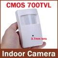 960 H 700tvl CMOS de Seguridad CCTV de Interior de Mini PIR Estilo 3.7mm Lente de la Cámara de Vigilancia