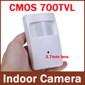 960H 700tvl CMOS Security Indoor CCTV Mini PIR Style 3.7mm Lens Surveillance Camera