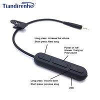 Date Sans Fil Bluetooth Câble pour Bose OE2 OE2i QC25 Casque Émetteur Adaptateur 2.5mm Audio Câbles Cordon pour iPhone Android