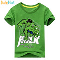 Jiuhehall Summer New Arrival Kids Cartoon The Heroes Short Sleeve T-Shirts Cotton Boys Clothing Cotton Children Tee Shirt ACM022