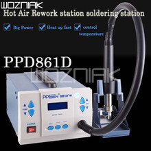ppd 861D  Hot Air Rework station soldering station 110v/220v for IC chip repair