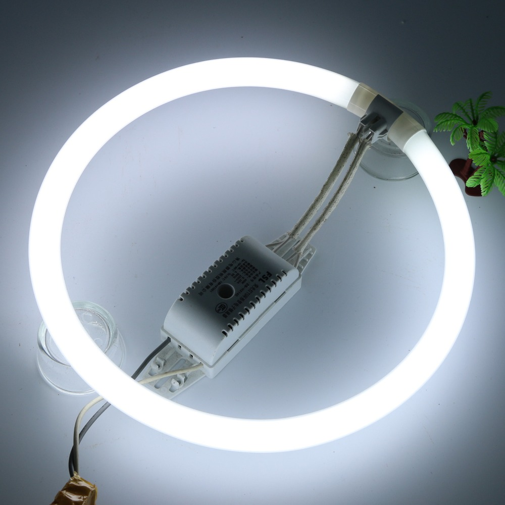 T5 Fluorescent Tube Circular Lamps Circle Energy-saving Round T5 Diameter 16mm FSL 22/28/32/40W 865/827 Bulb Lighting G10Q 4PCS