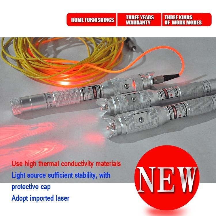 Высококачественный волоконно-оптический дефектоскоп 30 мВт VFL тестер волоконно-оптического кабеля 650 нм Визуальный дефектоскоп 10 мВт 20 МВт
