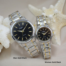 Onlyou marca de moda de lujo relojes de las mujeres de los hombres reloj de cuarzo vestido de las señoras reloj de pulsera de acero inoxidable de alta calidad 8892