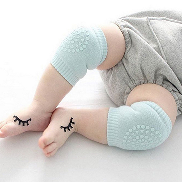 Baby Cotton Knee Pads Kids Anti Slip Crawl Necessary Knee Protector Babies Leggings Children Leg Warmers For Baby Playing Drop 1