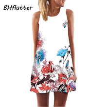 Sleeveless Boho Beach Dress