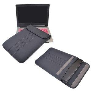 Image 4 - Pochette dordinateur pour Macbook Air Pro 11,13, 13.3, 15, 17.3 pouces pochette pour ordinateur portable étanche sacoche étui de protection pour Macbook Pro 13