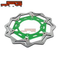 JFG 270mm Front Floating Brake Disc Rotor For KX125 KX250F KLX450R KX450F Supermoto Motocross Enduro Pit