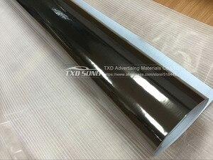 Image 3 - Película protectora de vinilo de Cromo Negro Flexible de la mejor calidad para La etiqueta engomada del coche película de espejo de cromo impermeable de burbujas sin aire