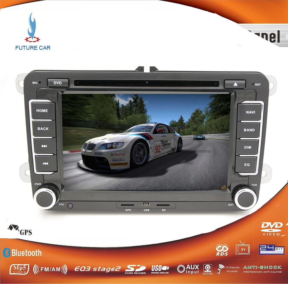 7inch vw car dvd gps player navigation for vw golf 5 golf 6 passat b6 eos caddy touran gps map. Black Bedroom Furniture Sets. Home Design Ideas