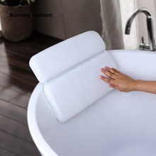 Burning Fashion 2018 SPA Non-slip Bathtub Headrest Soft Bathing beach pillow