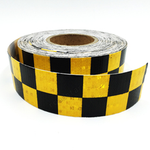 5cmx3m Reflective Tape Adhesive Stickers Decal Decoration VW Warning Tapes Vinyl Film Safety Auto Reflector Sticker on Cars