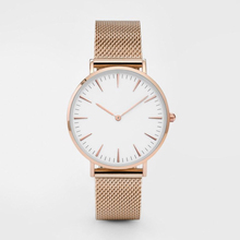 Ladies Quartz Wristwatch Women Men Business Watches Stainless Steel Network Belt Clock 3Bar Waterproof Clock Relogio Feminino