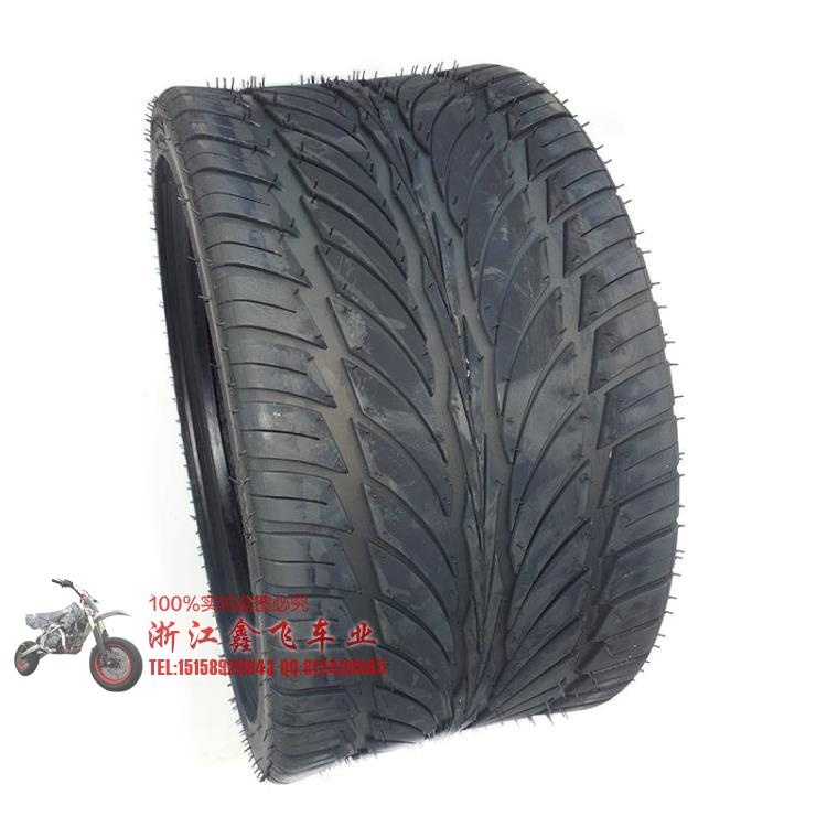 XUANKUN Inverted Three Rounds Of Beach Tires 12 Inch Flat Tire Beach Car 235 / 30-12 Inch Tire Wheels xuankun four rounds of beach car karting modified parts motorcycle rear axle assembly rocker drag three disc brakes
