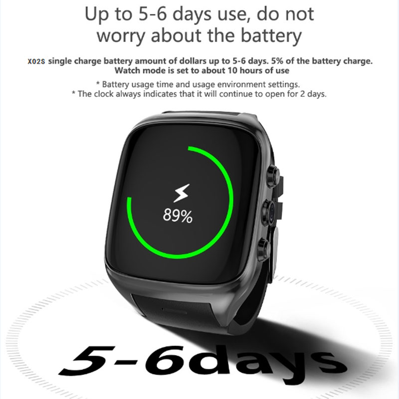 2018 Fashion Android5.1 Smart Watch Support 3G WIFI GPS  Bluetooth4.0 Sport Wristwatch Phone Dial Call Clock Fitness Tracker