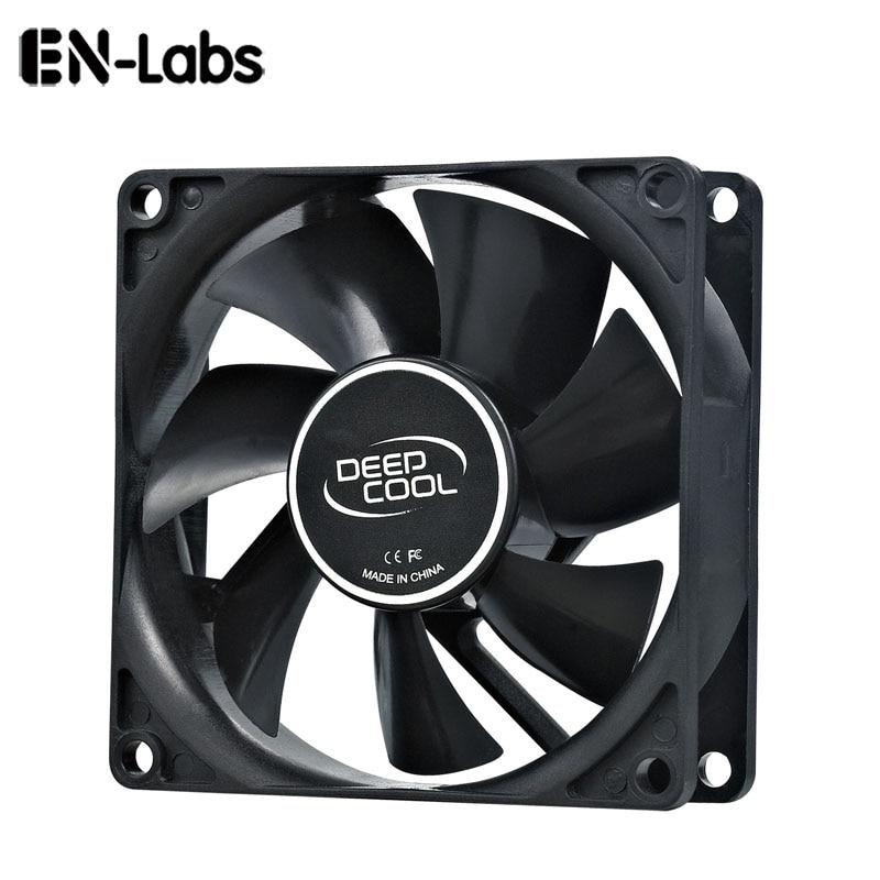 En-Labs PC Computer 80mm Hydro Bearing 20dBA Ultra Silent Case Fan Heatsink Cooler Cooling,8CM Fan Power By Molex IDE 4pin