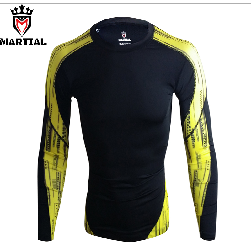 Martial Brands Mma Rashguards Fight Grappling Mma Rashguards Compression Bjj Jersey Crossfit Combat MMA Rash Shirts