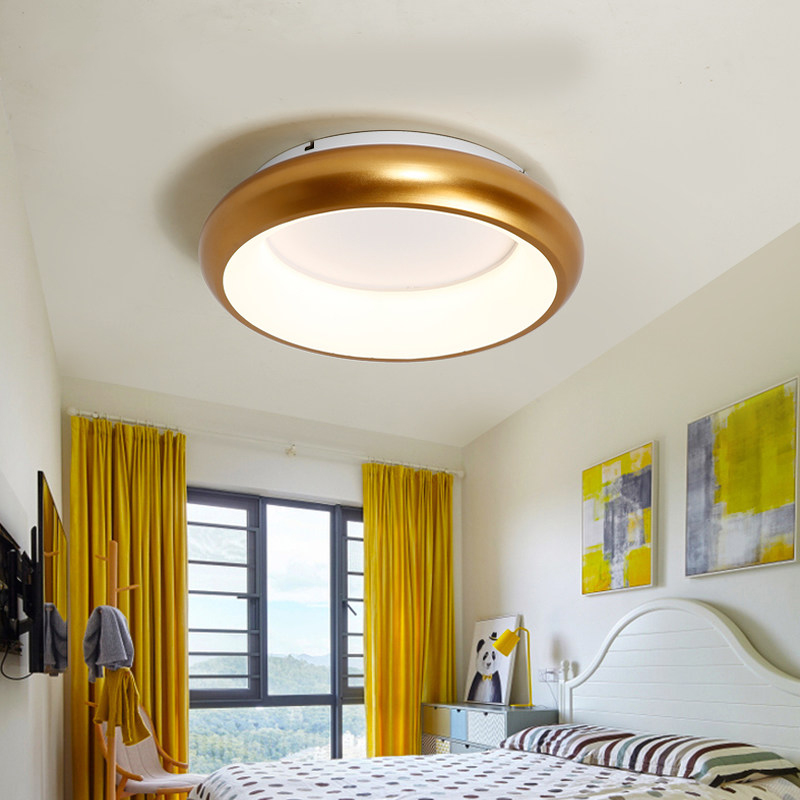 NEW Simple modern master bedroom ceiling lamp creative personality art restaurant cafe bar corridor macarons ceiling light in Ceiling Lights from Lights Lighting