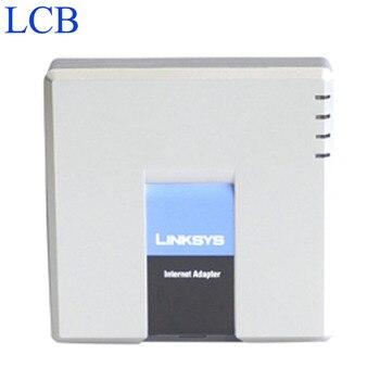 Разблокированный адаптер Linksys PAP2T для телефона, PAP2-NA/PAP2 SIP, IP VOIP, 2 порта для телефона FXS, система телефонного сервера PAP2T, 5 шт./лот, бесплатная до...