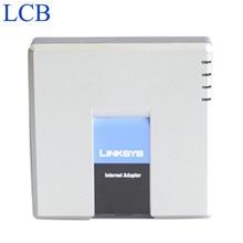Sbloccato Linksys PAP2T PAP2 NA/PAP2 SIP IP VOIP adattatore telefonico 2 porte telefoniche FXS PAP2T sistema telefonico Server 5 pz/lotto nave libera