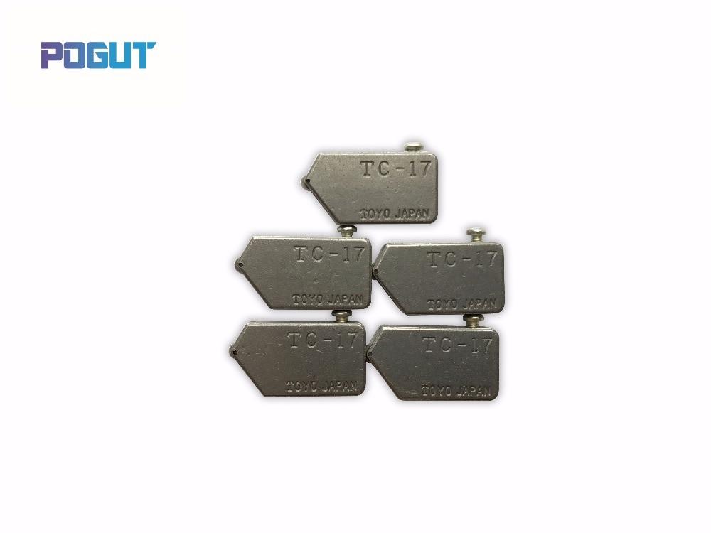 Купить с кэшбэком Free Shipping Replacement POGUT TOYO Type TC-17 Glass Tile Cutter Head 5pcs/lot