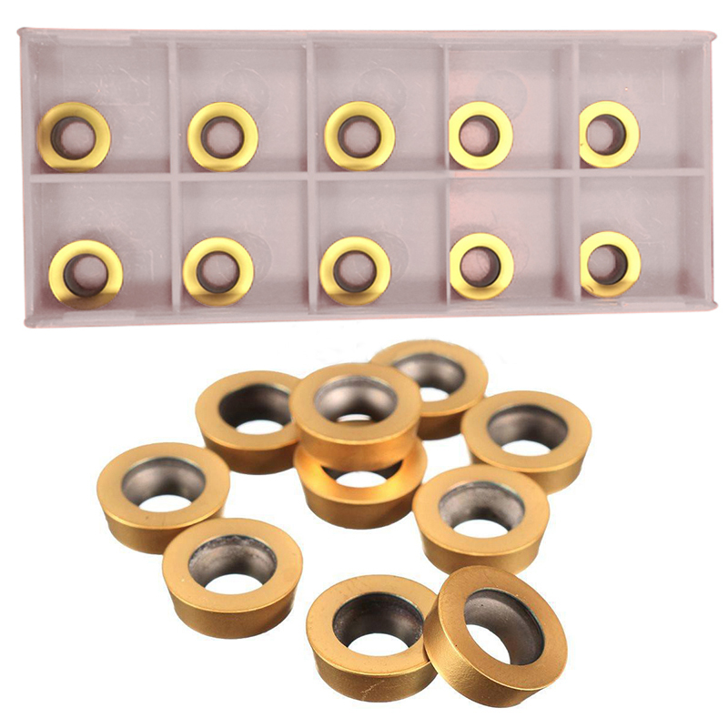10pcs RPMT1003MO-TT LF602 Carbide Inserts High Quality Cutting Inserts with Box For Lathe Turning Tool