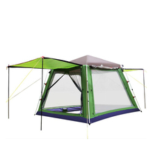Quick Automatic Opening Outdoor Climbing Camping Camouflage Tent Spring Summer Autumn 300*300*230cm Travel tent