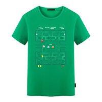 Pacman T Shirt Hip Hop Cool Novelty Funny Tshirt Unisex Print Fashion Tee Tops Mens Fashion