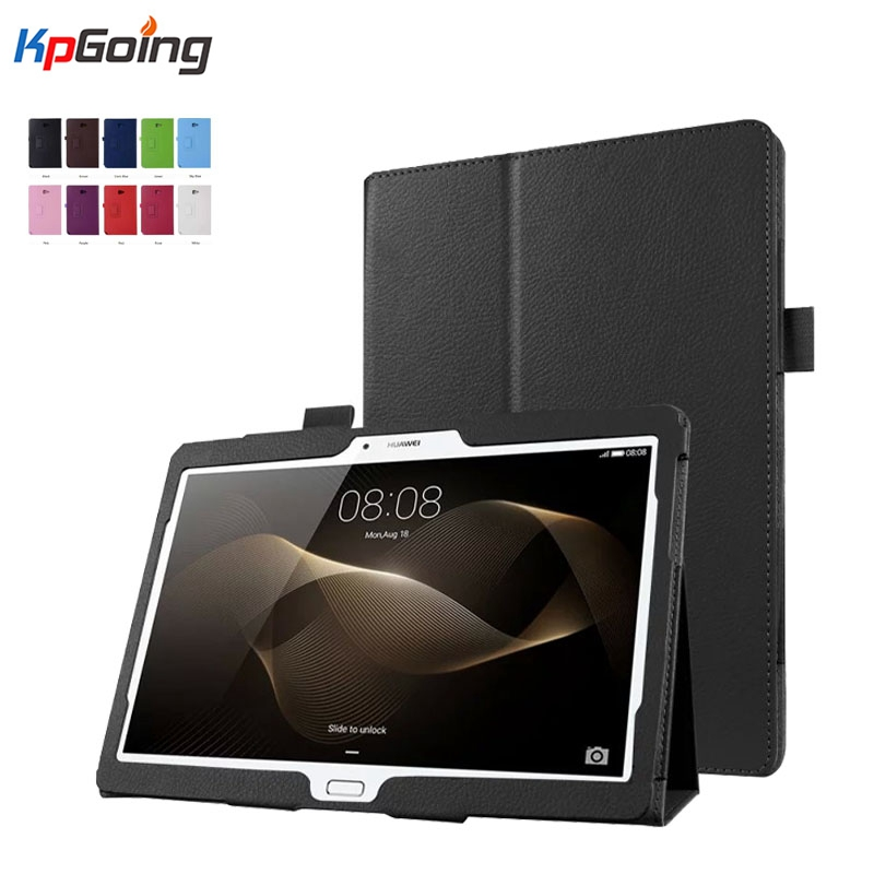 Leather Flip Case for Samsung Galaxy Tab A10.1 2016 T580 T585 SM-T580  Cases Cover Funda Tablet WIth Stand Hand Holder Shell luxury pu leather silicon case for samsung galaxy tab 3 8 0 sm t310 t311 t315 case cover funda fashion tablet flip stand shell