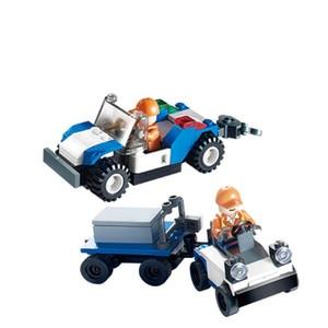 Image 5 - Городской международный аэропорт, 652 шт., авиационные строительные блоки, наборы кирпичей, модель, детские игрушки, совместимые с Lego