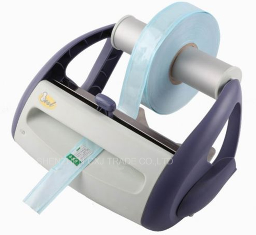 цены Free shipping by Dental Pulse Sealing Machine Wall-mounted type For Sterilization Package Dental sealing machine