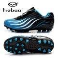 Tiebao profissionais sapatos das meninas dos meninos de treinamento de futebol ao ar livre chuteiras de futebol ag solas botas de futebol das crianças dos miúdos das sapatilhas