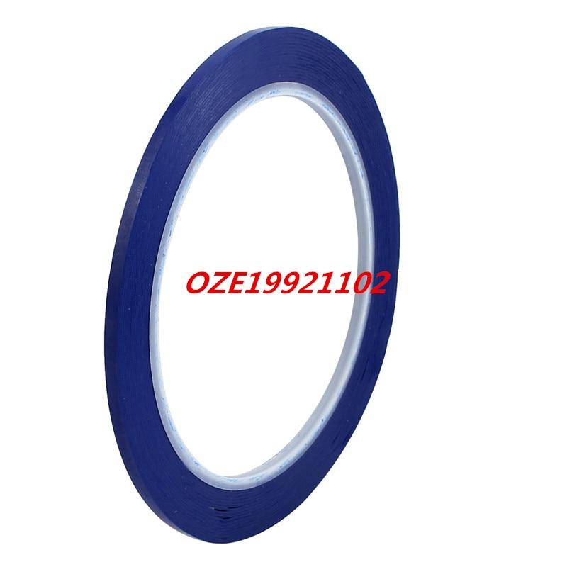 3mm Width 66M Length Single Sided High Temp Adhesive Marking Tape Mara Tape Blue single sided blue ccs foam pad by presta