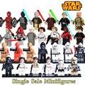 1 UNID C-3PO de Star Wars Princesa Leia Obi Wan Kenobi Jedi Knight diy bloques de construcción de ladrillos de juguetes para los niños de navidad figuras darth vader