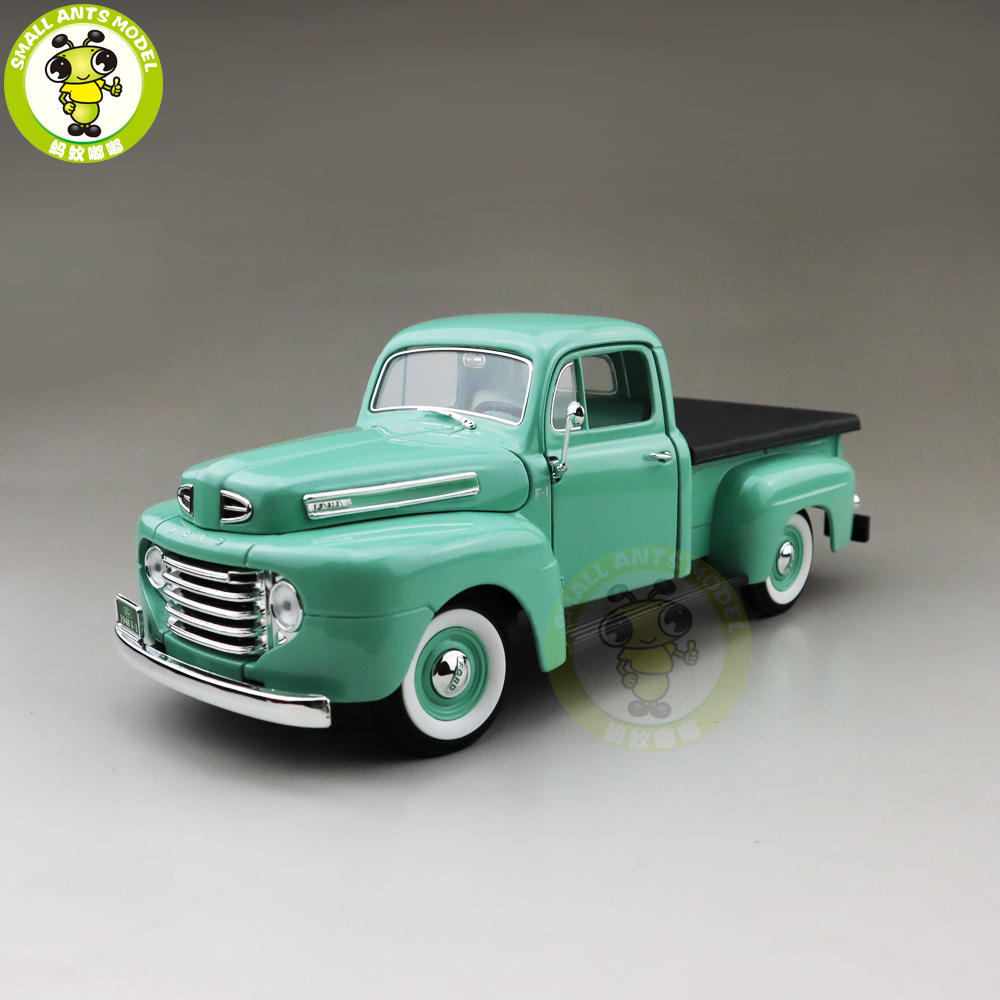 1/18 1948 Ford F-1 F1 Pick Up Truck Road Signature Diecast Model Car Truck Toys Boys Girls Gift