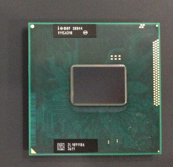 オリジナルインテルコア i5 2540 CPU 3 メートル 2.6 ソケット G2 デュアルコアノートパソコンのプロセッサ i5 2540m のため HM65 HM67 QM67 HM76 -