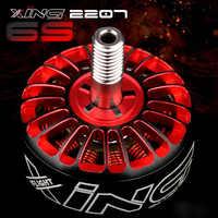 4PCS iFlight XING 2207 Motor 1700KV/1800KV/2450KV/2750KV 2-6S Racing Motor Titanium legering as voor RC FPV Drone Rotor